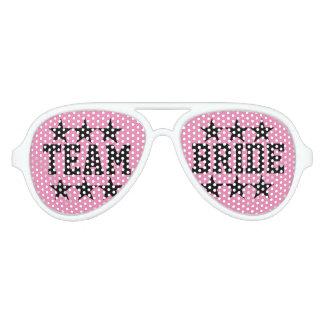 Sombras divertidas del fiesta del bachelorette de lentes de sol