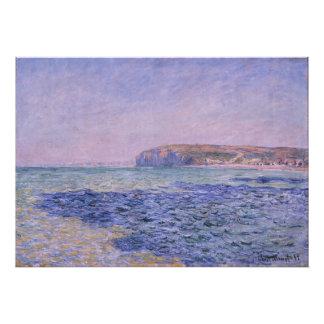 Sombras en el mar. Los acantilados en Pourville Arte Fotográfico