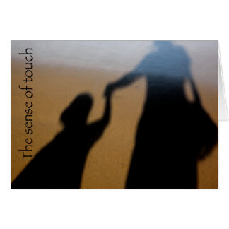 Sombras en la arena felicitación