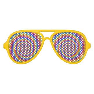 Sombras espirales psicodélicas del fiesta lentes de sol