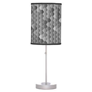 Sombras grises lámpara de mesa