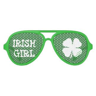 Sombras irlandesas verdes del fiesta del día del lentes de sol