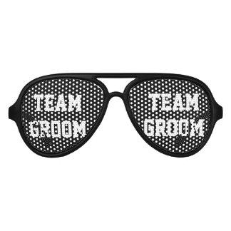Sombras negras de la despedida de soltero del gafas de fiesta