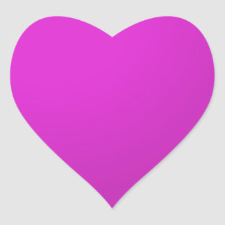 Sombras PÚRPURAS llanas Pegatina En Forma De Corazón