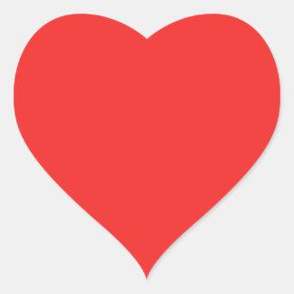 Sombras PÚRPURAS ROSADAS ROJAS llanas Pegatina En Forma De Corazón