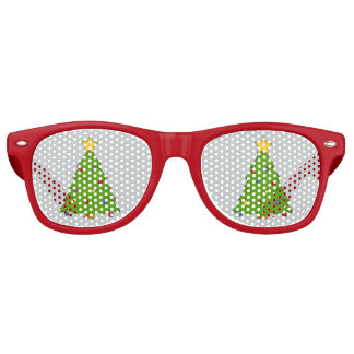 Sombras rojas de las gafas de sol de la lente del lentes de fiesta