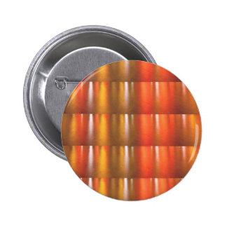 Sombras rojas de oro de la chispa - ColorCraft Pin Redondo De 2 Pulgadas