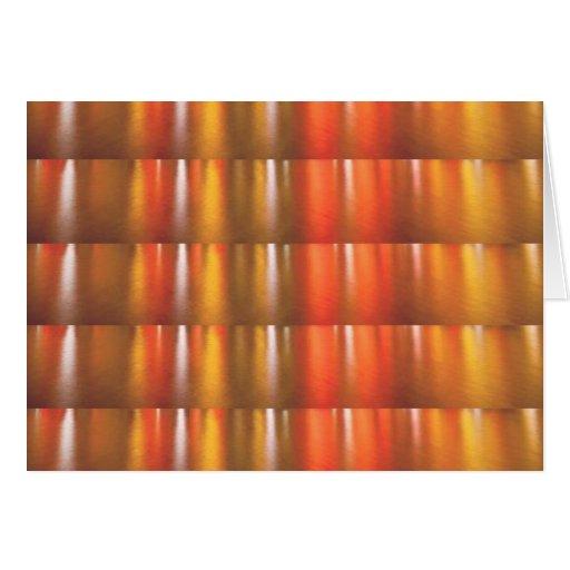 Sombras rojas de oro de la chispa - ColorCraft Tarjetón