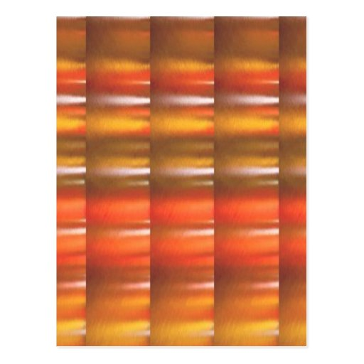 Sombras rojas de oro de la chispa - ColorCraft Postal