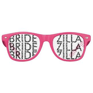 Sombras rosadas del fiesta del bachelorette del lentes de sol