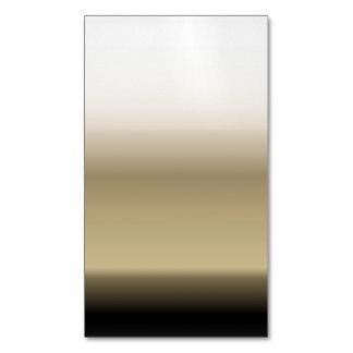 Sombras sutiles del beige al negro