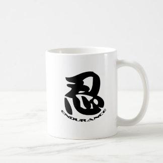 Sombree el símbolo de Nin del wiith del logotipo d Tazas