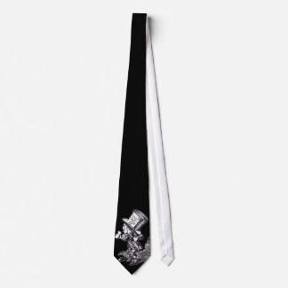 Sombrerero enojado corbata