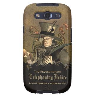 Sombrerero enojado divertido de Steampunk Samsung Galaxy S3 Cobertura