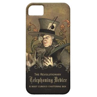 Sombrerero enojado divertido de Steampunk iPhone 5 Coberturas