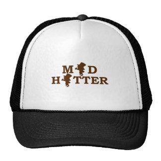Sombrerero enojado gorras de camionero