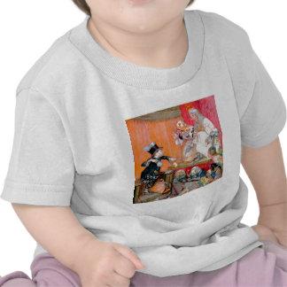 Sombrerero enojado Testifys para la reina y el rey Camisetas