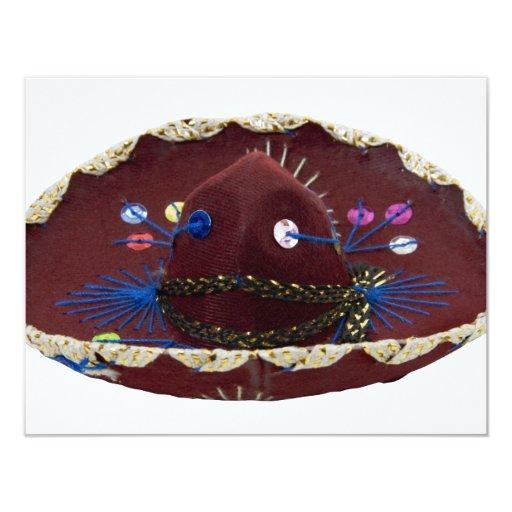 Sombrero071809 4.25x5.5 Paper Invitation Card