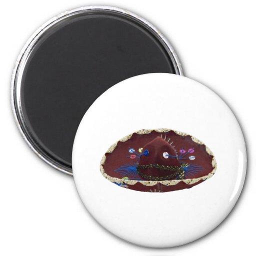 Sombrero071809 Imán Para Frigorífico