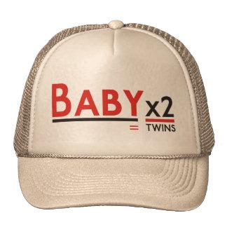 Sombrero 2 del bebé x gorros