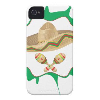 Sombrero and Maracas 2 Case-Mate iPhone 4 Case