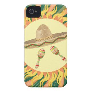 Sombrero and Maracas 3 iPhone 4 Case-Mate Case