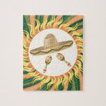 Sombrero and Maracas 3 Jigsaw Puzzle