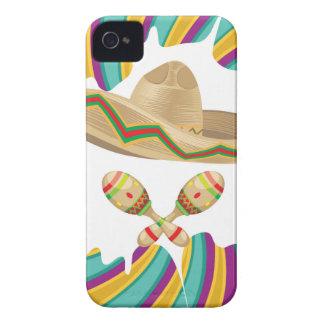 Sombrero and Maracas Case-Mate iPhone 4 Case