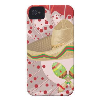 Sombrero and Maracas iPhone 4 Case