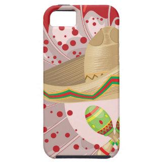 Sombrero and Maracas iPhone SE/5/5s Case