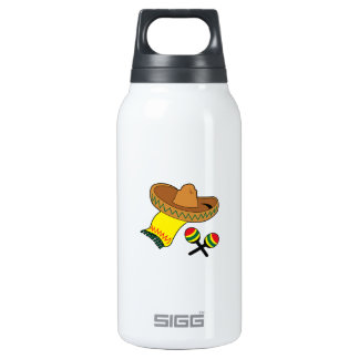 SOMBRERO AND MARACAS SIGG THERMO 0.3L INSULATED BOTTLE