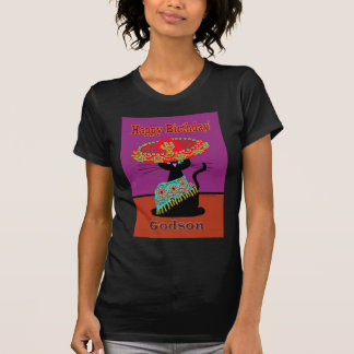 Sombrero Cat Godson T-Shirt