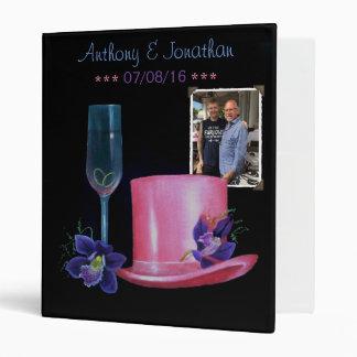 """Sombrero de copa gay del rosa del boda carpeta 1"""""""