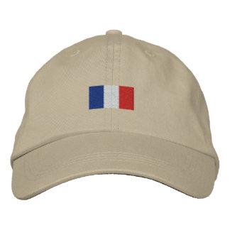 ¡Sombrero de Francia del la de Drapeau de - Bleus  Gorra De Beisbol