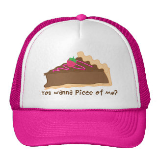 ¿sombrero de la empanada del chocolate que usted q gorras