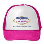 Sombrero de la novia de Las Vegas Gorros