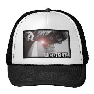 Sombrero de la talladora del cártel gorras de camionero