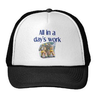 Sombrero del bombero gorra