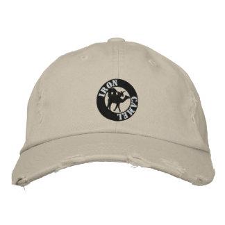 Sombrero del camello del hierro gorras de beisbol bordadas