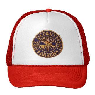 Sombrero del cuerpo de bomberos de Akron Ohio Gorras