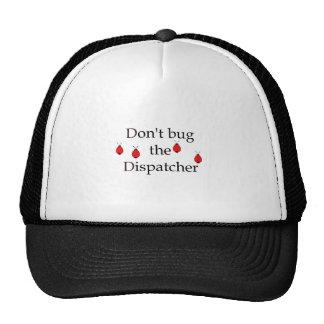 Sombrero del despachador del fuego gorro de camionero