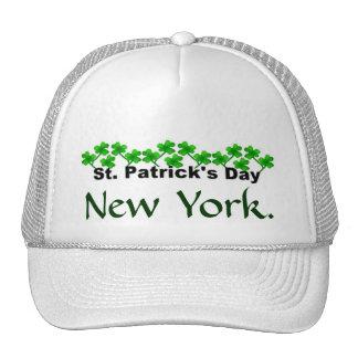 Sombrero del día de San Patricio Gorros Bordados