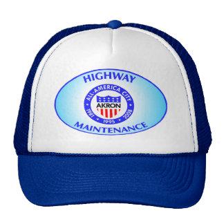 Sombrero del mantenimiento de la carretera de gorras