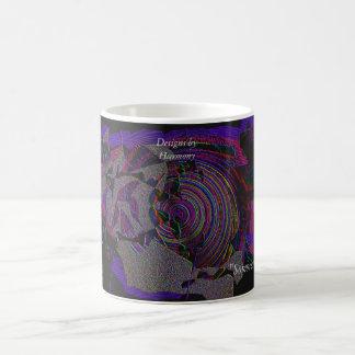 """Sombrero"", Digital Painting by Harmony Theresa K 11 Oz Magic Heat Color-Changing Coffee Mug"