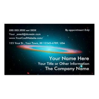 Sombrero Galaxy - business card template