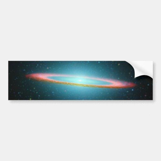 Sombrero Galaxy Car Bumper Sticker