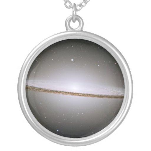 Sombrero Galaxy (Hubble Telescope) Personalized Necklace