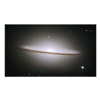 Sombrero Galaxy (Hubble Telescope) Photo Print