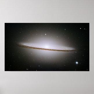 Sombrero Galaxy (Hubble Telescope) Print