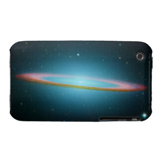Sombrero Galaxy in Infrared iPhone 3 Case-Mate Cases